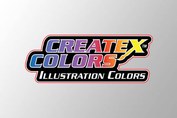 createx colors illustration colors logo