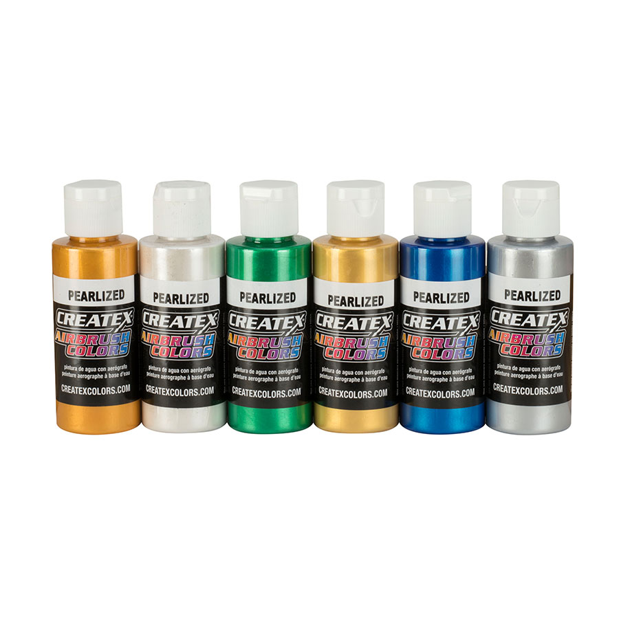 5804-00 2oz. AB Pearl Set - Airbrush Paint Direct
