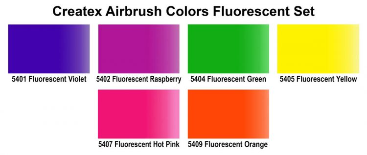 5802 00 2oz Ab Fluorescent Set