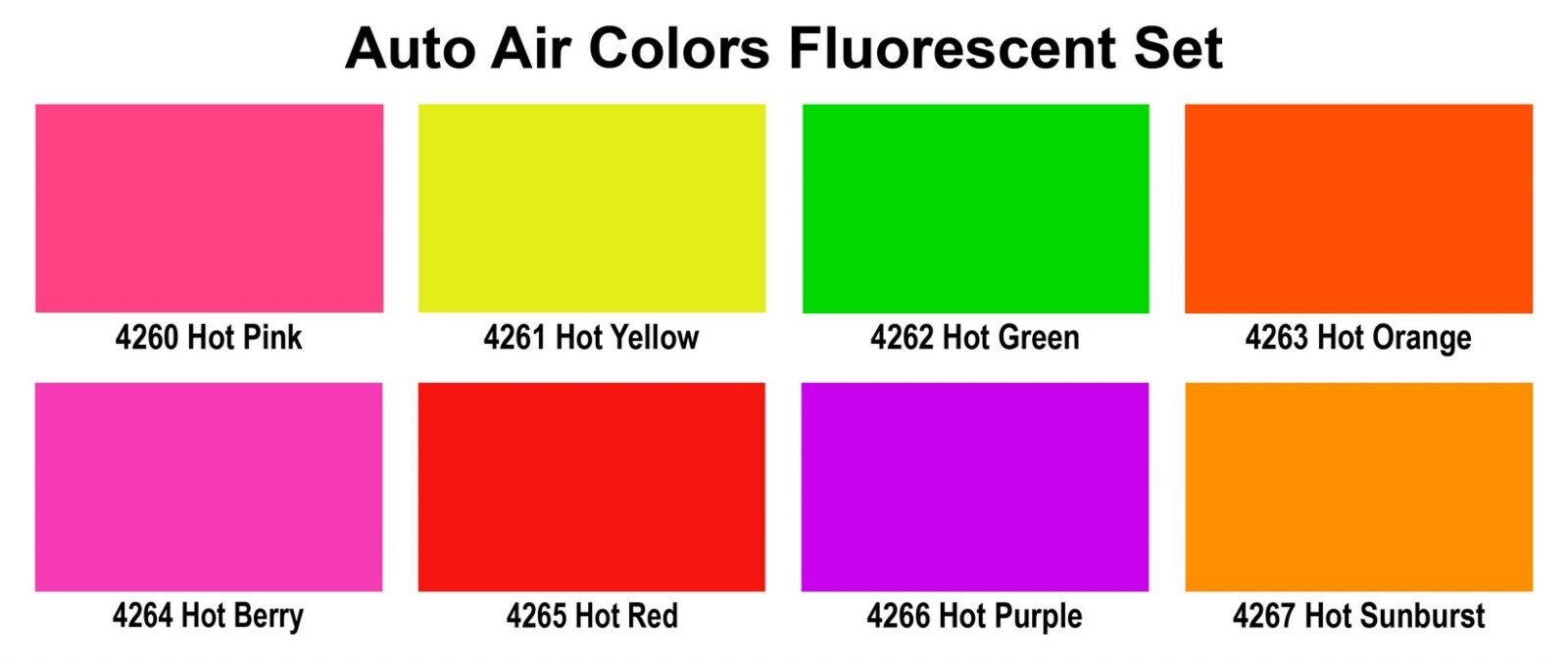 Fluorescent Auto Paint Colors Paint Color Ideas