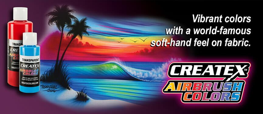 createx airbrush colors vibrant colors