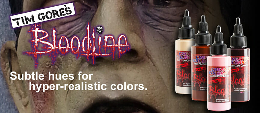 Tim Gores Bloodline Colors - subtle hues for hyper-realistic colors