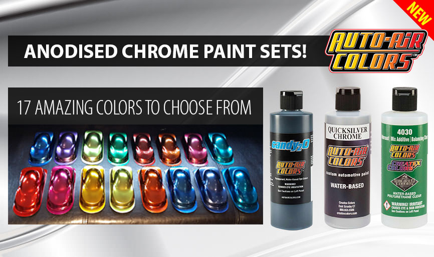 Anodized Paint for airbrush